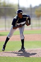 Nick Tyson - Milwaukee Brewers - 2009 spring training.Photo by:  Bill Mitchell/Four Seam Images