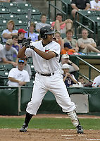 August 15, 2004:  Kevin West of the Rochester Red Wings, Triple-A International League affiliate of the Minnesota Twins, during a game at Frontier Field in Rochester, NY.  Photo by:  Mike Janes/Four Seam Images