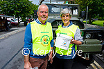 Brendan and Aileen Griffin of the organising committee of the Ardfert Vintage Tractor run fundraiser for Kerry Cork Cancer Support Group in Ardfert on Sunday