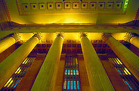 The 1929-34 30th St. Station is hub of Philadelphia transportation. Philadelphia Pennsylvania United States 30th St. Station.