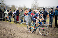 Katie Compton (USA/KFC Racing p/b Trek/Panache)<br /> <br /> Women's Race<br /> UCI cyclocross WorldCup - Koksijde (Belgium)<br /> <br /> ©kramon
