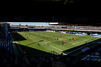 17th April 2021; Kenilworth Road, Luton, Bedfordshire, England; English Football League Championship Football, Luton Town versus Watford; A general view of the match from the new stand.