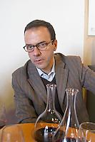 Jerome Malet, owner winemaker. Domaine Sarda Malet. Roussillon, France