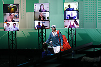 Rotterdam, The Netherlands, 4 march  2021, ABNAMRO World Tennis Tournament, Ahoy, Second round singles: Dusan Lajovic (SRB).<br /> Photo: www.tennisimages.com/
