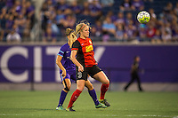 Orlando, Florida - Sunday, May 14, 2016: Western New York Flash forward Makenzy Doniak (3) during a National Women's Soccer League match between Orlando Pride and New York Flash at Camping World Stadium.