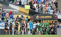 Phote before the match Argentina vs Bolivia , Corresponding Group -D- America Cup Centenary 2016, at CenturyLink Field Stadium, Seattle, Washington, photo:<br /> <br /> Foto previo del partido Argentina vs Bolivia, Correspondiente al Grupo -D-  de la Copa America Centenario USA 2016 en el Estadio CenturyLink Field, Seattle, Washington, en la foto:Selecciones de Argentina y Bolivia<br /> <br /> 14/06/2016/MEXSPORT/DAVID LEAH