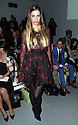 Amber Le Bon at the Daks show at London Fashion Week for Autumn/Winter 2014, Friday, 14th February 2014. Picture by Stephen Lock / i-Images