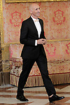 Spanish designer Modesto Lomba during the reception of King Felipe VI of Spain at the Royal Palace in honor of the President of the French Republic Emmanuel Macron. July 26,2018. (ALTERPHOTOS/Acero)