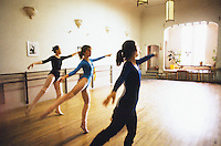 Ballet dasnce studio.