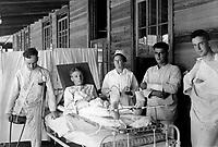 Surgical patients.  Base hospital, Camp Joseph E. Johnston, Florida.  Ca.  1918.  (War Dept.)<br />Exact Date Shot Unknown<br />NARA FILE #:  165-WW-248M-7<br />WAR & CONFLICT BOOK #:  673