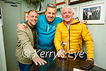 Enjoying the evening in the Failte in Killarney on Saturday, l to r: Jason McGann, Niall Callaghan and Peter McGathan.