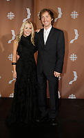 Montreal (Qc) CANADA - Sept 14, 2008 - <br /> <br /> Mariloup Wolfe, Emmanuel Bilodeau<br /> <br /> 2008 Gemeaux Gala rewarding French-Canadian television.