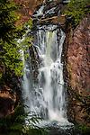 Brownstone Falls in the Copper Falls State Park in Mellen, Wisconsin