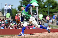 Lexington Legends pitcher Luis Rico (25) delivers a pitch during a game against the Hagerstown Suns on May 19, 2014 at Whitaker Bank Ballpark in Lexington, Kentucky.  Lexington defeated Hagerstown 10-8.  (Mike Janes/Four Seam Images)