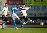 St Johnstone v Inverness Caley Thistle…03.12.16   McDiarmid Park..     SPFL<br />Danny Swanson scores the third goal<br />Picture by Graeme Hart.<br />Copyright Perthshire Picture Agency<br />Tel: 01738 623350  Mobile: 07990 594431