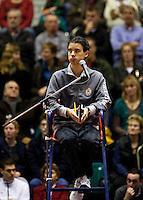 12-12-09, Rotterdam, Tennis, REAAL Tennis Masters 2009,  Scheidsrechter