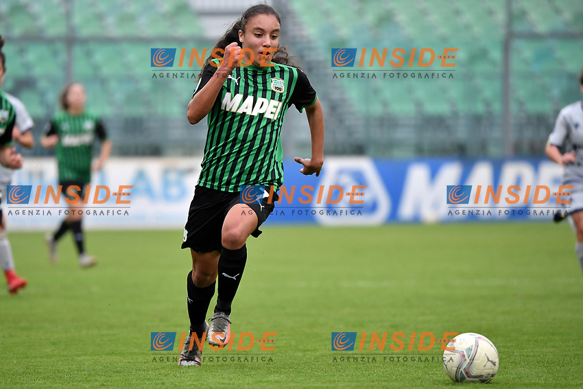 Haley Bugeja of Sassuolo in action during the women Serie A football match between US Sassuolo and Hellas Verona at Enzo Ricci stadium in Sassuolo (Italy), November 15th, 2020. Photo Andrea Staccioli / Insidefoto
