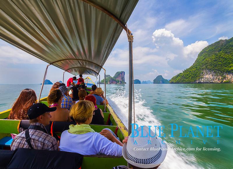Phang Nga Bay tour, Phang Nga Province, Andaman Sea, Thailand