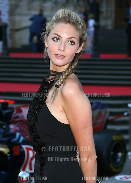Tamsin Eggerton attending the F1 Party, at the Natural History Museum, London. 06/07/2011  Picture by: Alexandra Glen / Featureflash