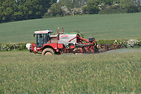 2-6-2021 Spraying Winter wheat in Rutland<br /> ©Tim Scrivener Photographer 07850 303986<br />      ....Covering Agriculture In The UK....
