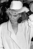 Luba<br />  et ses musiciens dans le Vieux-Montreal, dans les années 80 (date inconnue)<br /> <br /> PHOTO : Agence Quebec Presse