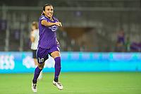 Orlando, FL - Saturday August 12, 2017: Marta Vieira Da Silva during a regular season National Women's Soccer League (NWSL) match between the Orlando Pride and Sky Blue FC at Orlando City Stadium.
