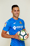 Getafe CF's Bruno Gonzalez during the session of the official photos for the 2017/2018 season. September 19,2017. (ALTERPHOTOS/Acero)