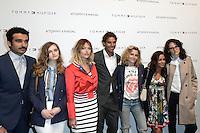 Syrus SHAHIDI - Lily TAIEB - Caroline RECEVEUR - Rafael NADAL - Pauline THOMSON - Alice BELAIDI - Clemence GABRIEL - Tommy X Nadal Event - Tommy Hilfinger - Paris 18 mai 2016 - FRANCE