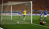 SAO PAULO, SP, 08 DE DEZEMBRO 2011 - TORNEIO CIDADE DE SAO PAULO - BRASIL X ITALIA - Lance de partida entre Brasil x Italia pelo 3º Torneio Internacional Cidade de São Paulo de Futebol Feminino 2011, realizada no estádio Paulo Machado de Carvalho (Pacaembu), na zona oeste da capital paulista, nesta quinta- feira (08). O Brasil venceu por 5 a 1. (FOTO: RICARDO LOU - NEWS FREE).