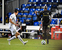 LAKE BUENA VISTA, FL - JULY 18: Bradley Wright-Phillips #66 of LAFC is isolated on the flank during a game between Los Angeles Galaxy and Los Angeles FC at ESPN Wide World of Sports on July 18, 2020 in Lake Buena Vista, Florida.