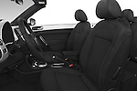 Front seat view of a 2015 Volkswagen Beetle - 2 Door Convertible 2WD Front Seat car photos