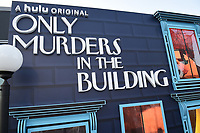 """NEW YORK CITY - AUG 24: The New York screening event for Hulu's """"Only Murders in the Building"""" at The Greens at Pier 17 on August 24, 2021 in New York City. (Photo by Frank Micelotta/Hulu/PictureGroup)"""