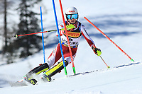 21st February 2021; Cortina d'Ampezzo, Italy; FIS Alpine World Ski Championships 2021 Cortina Men's Slalom; Adrian Pertl (AUT) finished 2nd in the event