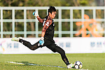 Ka Wing Tse of Dreams FC in action during the Dreams FC vs Wofoo Tai Po match of the week one Premier League match at the Aberdeen Sports Ground on 26 August 2017 in Hong Kong, China. Photo by Yu Chun Christopher Wong / Power Sport Images