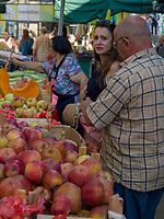 Markt an der Brankova, Belgrad, Serbien, Europa<br /> Brankova Market, Belgrade, Serbia, Europe