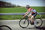 Race favourite Anna Van Der Breggen (NED) Boels Dolmans Cycling Team in action during La Fleche Wallonne Femmes 2018 running 118.5km from Huy to Huy, Belgium. 18/04/2018.<br /> Picture: ASO/Thomas Maheux | Cyclefile.<br /> <br /> All photos usage must carry mandatory copyright credit (© Cyclefile | ASO/Thomas Maheux)