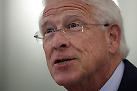 United States Senator Roger Wicker (Republican of Mississippi), Chairman, US Senate Committee on Commerce, Science, & Transportation speaks during a United States Senate Committee on Commerce, Science, and Transportation oversight hearing to examine the Federal Communications Commission in Washington, DC on June 24, 2020. <br /> Credit: Alex Wong / Pool via CNP / Pool via CNP/AdMedia