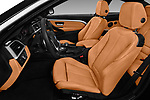 Front seat view of a 2018 BMW 4 Series Luxury 4 Door Coupe front seat car photos