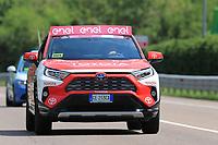 27th May 2021; Rovereto, Trentino, Italy; Giro D Italia Cycling, Stage 18 Rovereto to Stradella; Hybrid Toyota Jury Car
