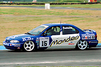 British Touring Car Championship. #15 Paul Radisich (NZ). Team Mondeo. Ford Mondeo Si.