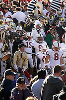 2 December 2006: Aaron Smith, Richard Sherman, Leon Peralto and Evan Moore during Stanford's 26-17 loss to Cal in the 109th Big Game at Memorial Stadium in Berkeley, CA.