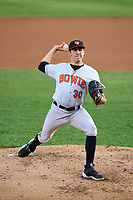 Bowie Baysox pitcher Grayson Rodriguez (30) during a game against the Harrisburg Senators on September 9, 2021 at FNB Field in Harrisburg, Pennsylvania.  (Mike Janes/Four Seam Images)