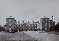 A late Victorian or Edwardian photograph of Euston Hall