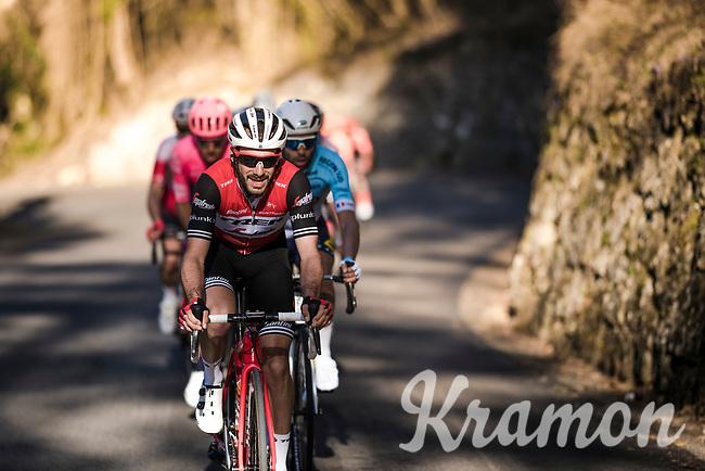 Julien Bernard (FRA/Trek-Segafredo) up the final climb: the Col de Turini<br /> <br /> Stage 7: Nice to Col de Turini (181km)<br /> 77th Paris - Nice 2019 (2.UWT)<br /> <br /> ©kramon
