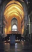 Canterbury: Canterbury Cathedral--Nave.