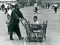 Kinderwagen in China 1980