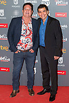 Jorge Perugorría and Vladimir Cruz attends to welcome party photocall of Platino Awards 2017 at Callao Cinemas in Madrid, July 20, 2017. Spain.<br /> (ALTERPHOTOS/BorjaB.Hojas)