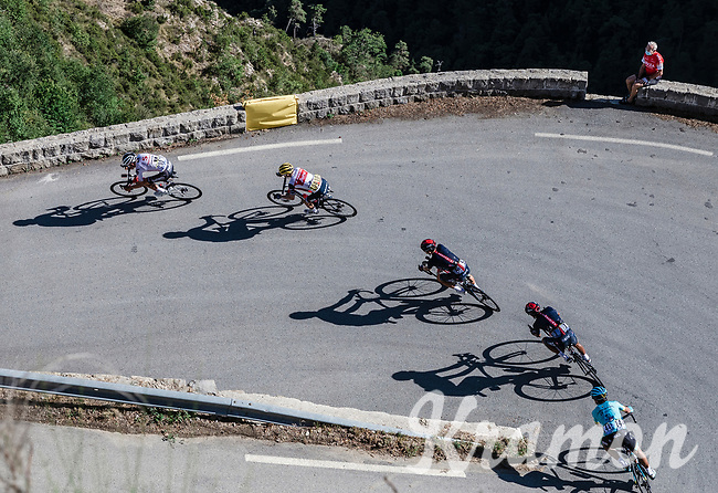 Egan Bernal (COL/Ineos Grenadier) descending the Col de Turini in the peloton<br /> <br /> 107th Tour de France 2020 (2.UWT)<br /> (the 'postponed edition' held in september)<br /> Stage 2 from Nice to Nice 186km<br /> ©kramon