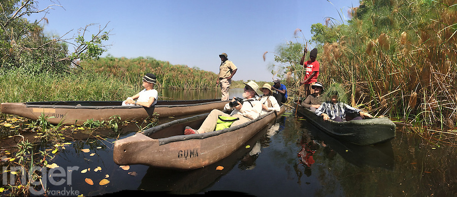 Touring the Okavango Delta by Mokoro Canoe