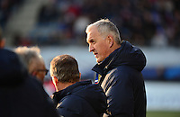 Lorient, France. - Sunday, February 8, 2015: France head coach Philippe Bergeroo. France defeated the USWNT 2-0 during an international friendly at the Stade du Moustoir.
